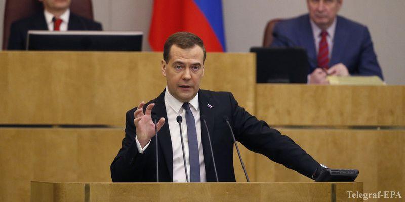 медведев назвал условие по транзитному контракту с украиной